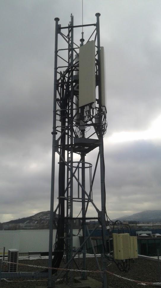 Antenne relais Orange ( NRA Newton - Clermont-Ferrand )