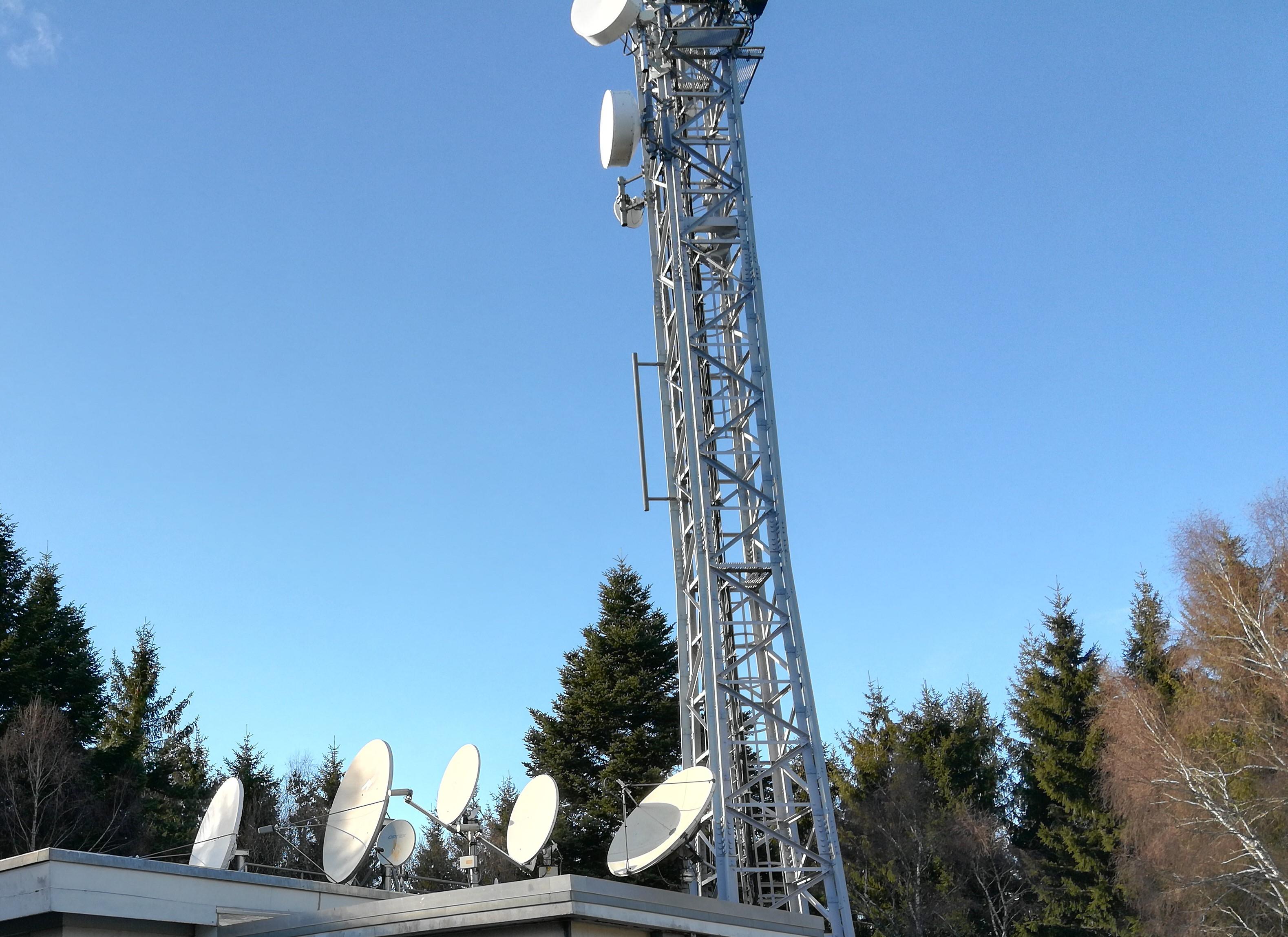 Antenne relais - Collecte satellite